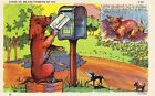 Dog Postcard Cheer Up We Are Thinking of You C T Dog Comics Series E01