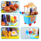 Kids 33 pcs Pretend Role Play BBQ Food Cooking Gift Cart  Role Play Cooking
