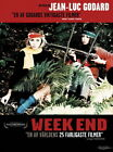 129988 Week End 1967 Jean luc Godard Decor WALL PRINT POSTER US