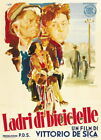 131745 The bicycle thief Vittorio De Sica vintage Decor WALL PRINT POSTER US