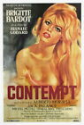 130462 Le Mepris Contempt Brigitte Bardot Godard Decor WALL PRINT POSTER US