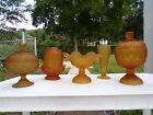 Star 8 Piece Collection Compotes Candle Lamp Vase