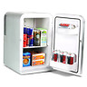 15 Litre Mini Fridge Cooler and Warmer - Silver   Thermoelectric Food