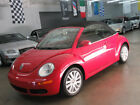 Volkswagen New Beetle Convertible 9300 includes SHIPPING 36000 miles Florida RED on Black Leather nonsmoker car