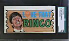 1964 TOPPS BEATLES PLAKS #7 LOVE THAT RINGO SGC 84 NEAR MINT 7