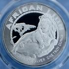 2017 PCGS MS69 African Lion $2 Niue Coin, 1 Troy Ounce .999 Fine Silver