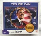 Obama Yes We Can 1000 piece puzzle NIB Milton Bradley Made in USA 2008