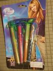 Hannah Montana Miley Cyrus 4 pack clip pen with rope sealed