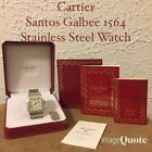 Authentic Cartier Santos Galbee 1564 Stainless Steel Watch