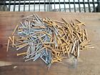 300+ Old Un-Used Cut Square Head Nails 3lbs 10oz  Antique 1.5