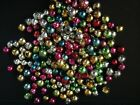 Vintage 200+ Lot Loose Mercury Glass Christmas Beads for Garland or Icicles 2