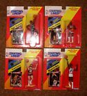 4 - Different 1992 Basketball Starting Lineup Figures Scottie Pippen, Robinson