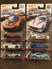 Hot Wheels Car Culture Cars  Donuts With RLC 13 Copo Camaro Lot Of 6