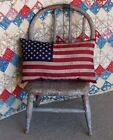 American Flag Pillow Country Primitive Rustic Decor AAFA Made in USA! SS #2