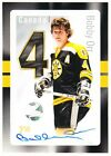 Bobby Orr Autograph NHL Hockey Original Six Canada Post Stamp Boston Bruins 2014