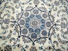 8X5 EXQUISITE MASTERPIECE 300KPSI MINT NEW HAND KNOTTED KORK NAIN PERSIAN RUG