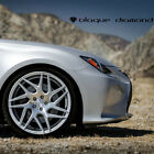 20 BLAQUE DIAMOND BD3 SILVER CONCAVE WHEELS RIMS FITS LEXUS LS430