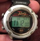 Late 90s Vintage Timex Atlantis 100 Mens Sport Watch w/ Indiglo
