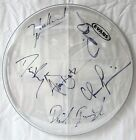 COUNTING CROWS authentic autographed DRUM HEAD signed X6 band 2014 concert tour