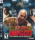 TNA Impact PS3 Complete NM Play Station 3, video games