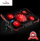NEW BEST Laptoop Gaming Cooler Cooling Pad 5 Fans For Macbook And Notebook 17.3