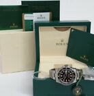 Mens Rolex Submariner 116610 Date Ceramic Bezel Steel Watch Box Papers
