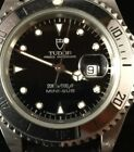 Tudor Mini Sub Submariner Watch Rolex stainless cased Oyster Prince version.