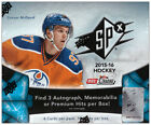 2015-16 Upper Deck SPx NHL Hockey Hobby Box