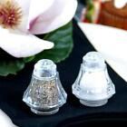 24 fillable Mini Plastic Party Favors Salt Shakers Wedding First Communion Clear