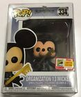 FUNKO POP ORGANIZATION 13 MICKEY DISNEY 2018 SDCC COMIC CON w OFFICIAL STICKER