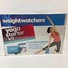 Weight Watchers Yoga Starter Kit 2 Complete Workouts with DVD Strap Block CC