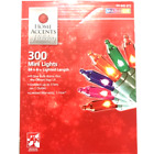 HOME ACCENTS HOLIDAY 300ct MULTI COLOR String Lights hristmas Mini Lot of 2