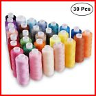 Machine Embroidery Thread Sewing Polyester 30 Spools Lot Colors Each Brother New