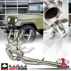 SS Full Length Exhaust Header Manifold+Y Pipe for 81 86 Jeep CJ7 CJ5 42 258 I6