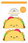 Scrapbooking Crafts DB Doodle pop CS Sticker Taco Bout Tacos Happy Faces Cheese