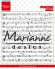Marianne Design Choose One Creatables Dies - Piano Clear Stamp Music Notes