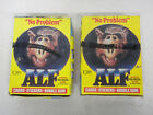 1987 Topps ALF TV Show Cards 2 Full Boxes 48 each NEW Sealed Wax Packs Series 1
