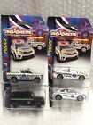 Majorette Thailand Police Toyota Model Car Metal Diecast Set Gift Toy Home Decor
