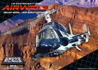 SGM 08 BL x 6 Aoshima Airwolf 1 48 Scale Diecast Model Blue 1 Master Carton
