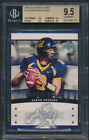 2005 Upper Deck Rookie Debut #126 Aaron Rodgers Rookie Card Graded BGS All 9.5