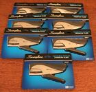 LOT OF 7 NEW Swingline Handheld Stapler Premium Plier with staples - Sealed Pkgs