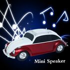 Car Module Card Speaker FM Radio Hands free Call Mode Double Trumpet Portable