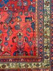 C 1930 Malayer Antique Persian Exquisite Hand Made Rug 4' 5