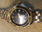 Mens Omega Seamaster 18K Gold & SS 300M Professional watch - Blue Dial - 2362.80