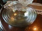 Anchor Hocking Glass Mixing Bowl Set - Set of Four - USA