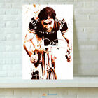 HD Printed Eddy Merckx Cycling Oil Painting Wall Decor Art On Canvas 12x18inch