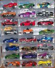 HOT WHEELS PLUS OTHER 50 DIE CAST VEHICLES 35 LOOSE UNPLAYED WITH 15 CARDED