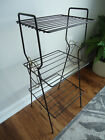 Brass Wire Side Table Stand Vintage Rack Stand Retro