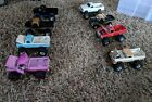custom LIfted FORD F 150 pickup TRUCK 4X4 1 64 SCALE diecast