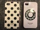 Kate Spade Hard Shell Iphine 4s Cases 2 New and Pre Owned